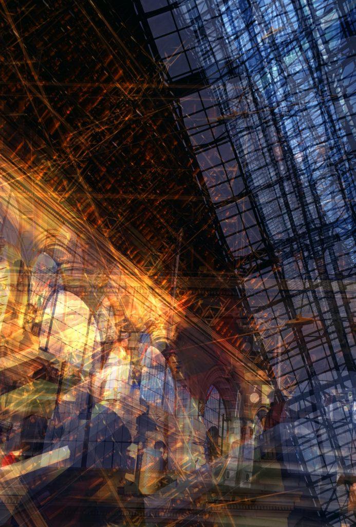 Keleti Railway Station - montage