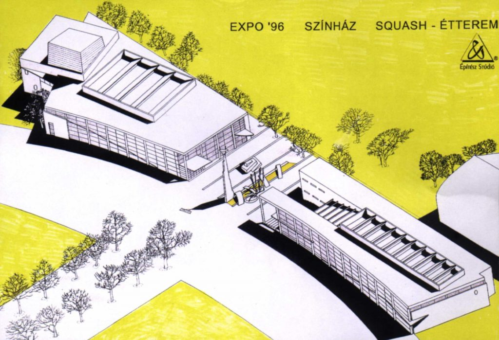Budapest Expo tender - Sports and cultural facilities - with Építész Stúdió
