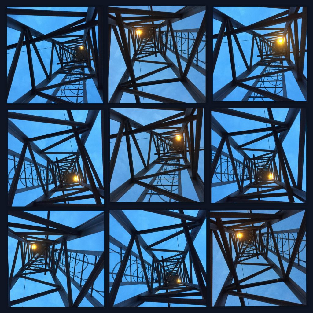 Tower collage