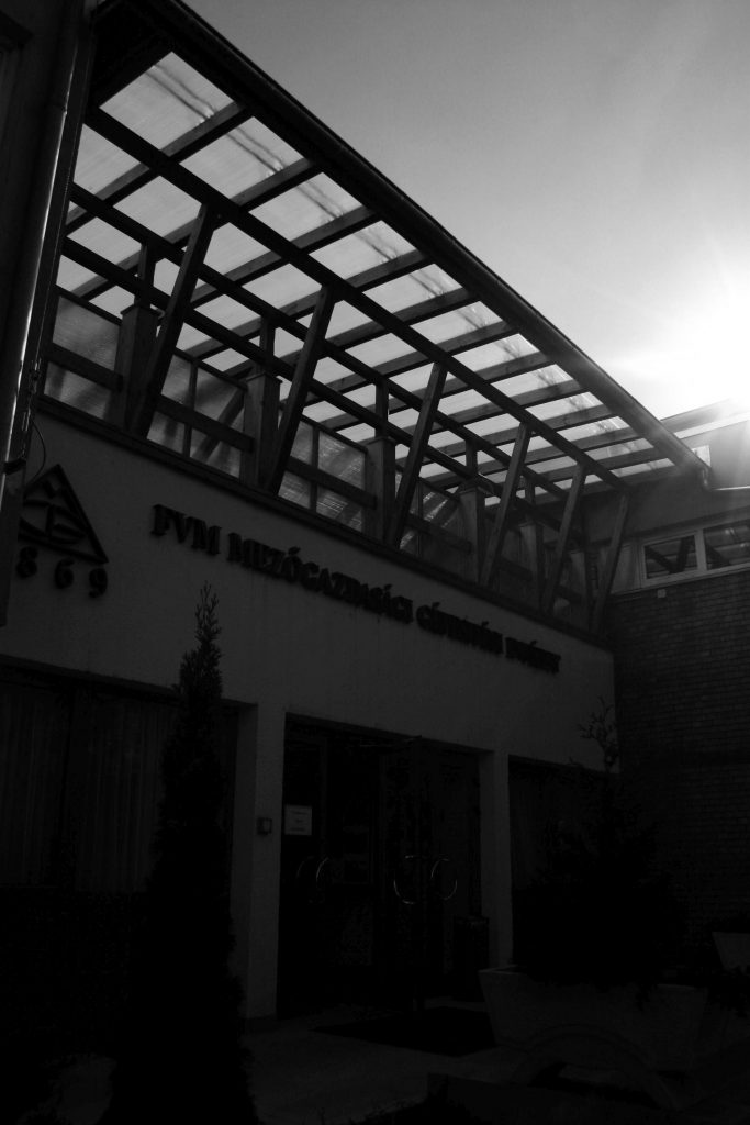 FVM Institute - Gödöllő - entrance